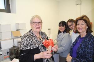 Unser engagiertes Serviceteam Brigitte, Kirstin, Andrea und Anne