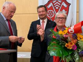 Brigitte Eckert 40 Jahre in der SPD