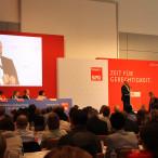 Martin Schulz auf dem Landesparteitag in Schweinfurt