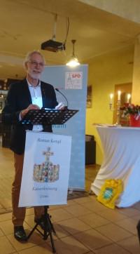Roman Kempf bei seiner Lesung