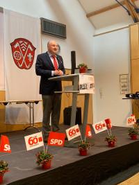 Bernd Rützel bei seinem Grußwort