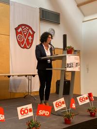 Helga Raab-Wasse, Kreisvorsitzende der SPD