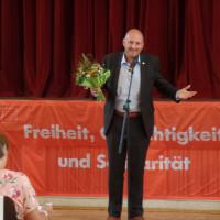 Bernd Rützel mit 100 Prozent zum Bundestagskandidaten gewählt